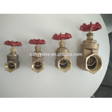 3/4 inch stem brass gate valve price with most hot design