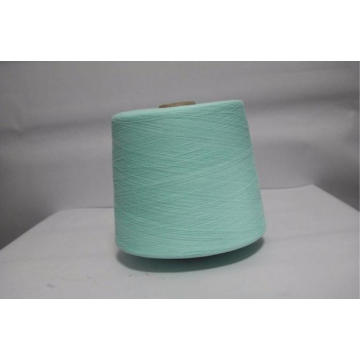 Eco-Friendly Big Cone 80% Cotton 20% Pes Blended Knitting Yarn