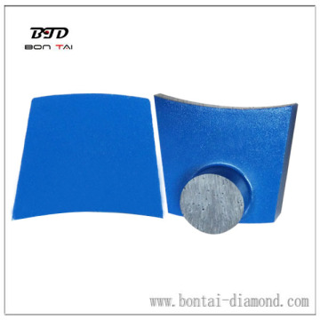 one button segment diamond grinding plate