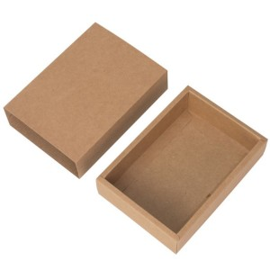 Kraft drawer foldable paper box
