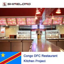 Proyecto de cocina del restaurante Congo DFC