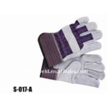 "10.5"" cow split leather welding gloves"