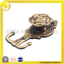 Metal Curtain Tassel Holder and Hook ,Curtain Accessory in alibaba