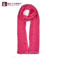 HEC OEM Custom Logo New Styles Fashion Plain Women Scarf Shawl