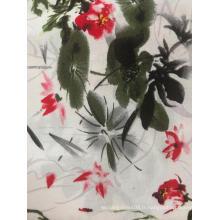 Tissu de pyjama imprimé en tissu rayonne