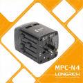 Convertidor internacional 110-240V Adaptador de viaje con cargador para accesorios de teléfono móvil