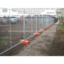 Временный забор металлического плавательного бассейна (заводской)
