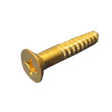 Brass Csk Head Phillips Carbon Steel Wood Screw