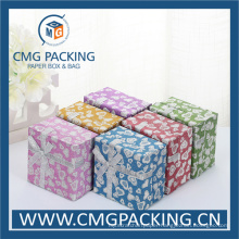 Shiny Glitter Paper Jewelry Box (CMG-MAY-005)