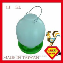 Plastique Large 12L Durable Haute Qualité Volaille Ball Type Drinker