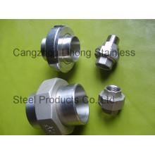 """1/2 """"en acier inoxydable 316 DIN2999 Union Flat F / F"""