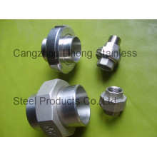 "3/8"" Stainless Steel 316 DIN2999 Union Flat F/F"