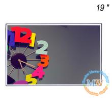 """Hochhelliger 19 """"LCD-Monitor mit offenem Rahmen und abnehmbaren Befestigungsteilen"""