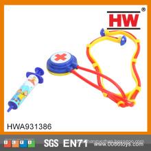 2015 Best selling children plastic doctor kit stethoscope toy