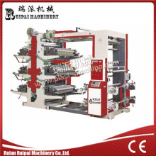 Высокоскоростная flexographic печатная машина 6 Цвет