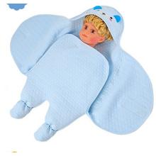Bordado urso padrão bebê manta