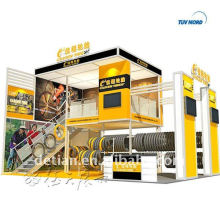 Trade show exhibition display stand pavilion booth construction(M&M)