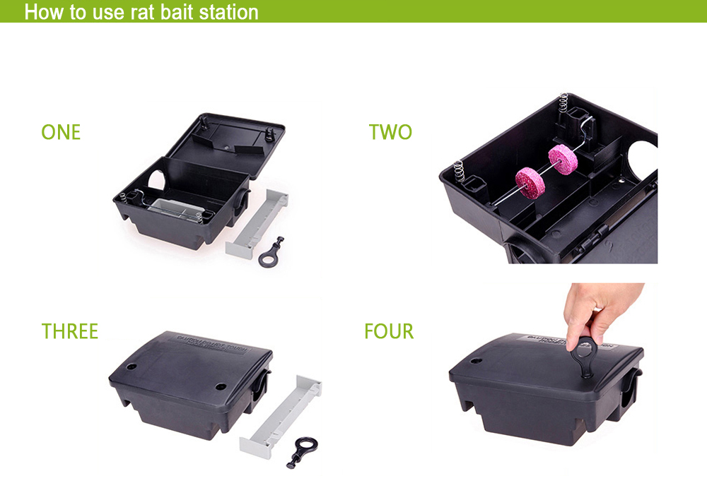 How To Use Mouse Bait Stations