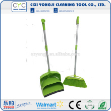 Trustworthy China Supplier Conjunto verde recogedor y escoba