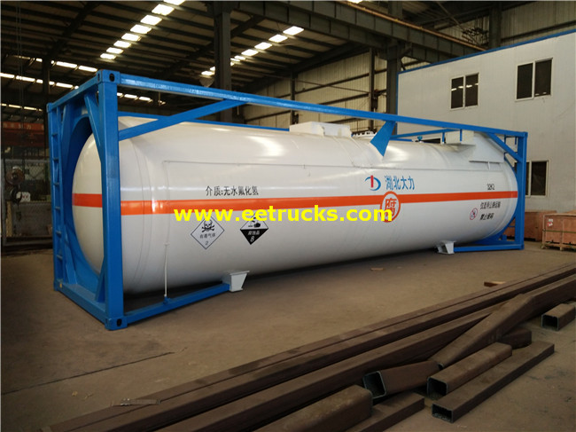 24000L HCl Tank Storage Containers
