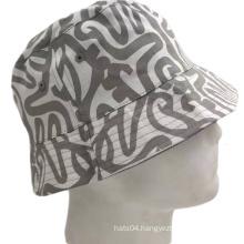2021 popular fashion  bucket hats cotton twill customized sun bob reversible bucket hat caps