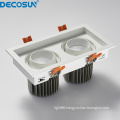 Dimmable CRI90 CRI80 indoor led downlights