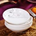 Prato personalizado de porcelana com prato de frutas