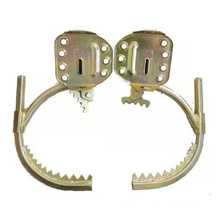 Pole Climbing Spikes,Climbing Trees Artifact Electrician Wooden Pole Foot Buckle,Thicken Climbing Trees Tool