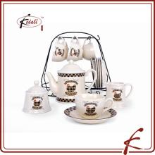 Conjunto de té de cerámica de diseño elegante conjunto