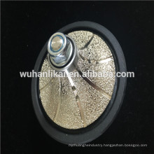 Vacuum brazed diamond hand-type profile wheel