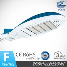 120W alta eficiencia LED luz de calle con CE/RoHS/FCC