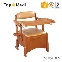 Topmedi Medical Furniture Cómoda de madera con mesa de comedor