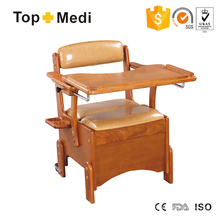 Topmedi Medical Furniture Cômoda de madeira com mesa de jantar