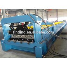 Perfil de aço automático que faz a máquina