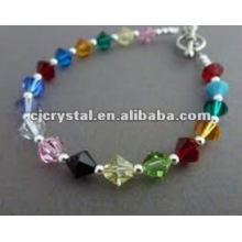 Colorful Diamond Beads Bracelet