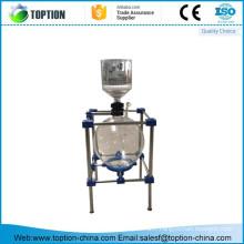 Glass vacuum filtration assemblies glass filter device 20L
