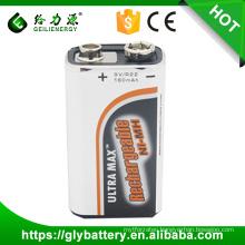 Ni-mh 9V 160mah Rechargeble Battery