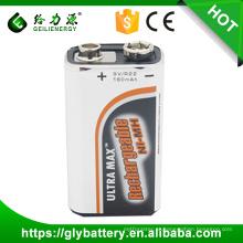 Bateria Ni-mh 9V 160mAh Rechargeble