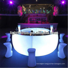Factory direct sale rechargeable new app control color changing bar furniture bar counters design