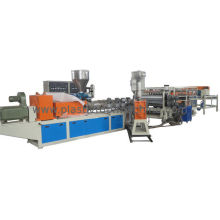 Automatic 2 Layer Glaze Pvc Tile Making Machine For Roofing , High Speed And Long Life