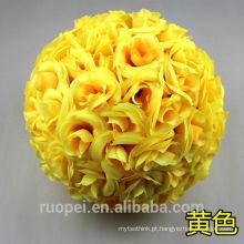 Bola de flores artificiais flor de hortênsia artificial bola peça central
