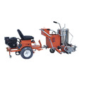 driving thermoplastic road line marking machine