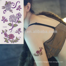 Supplier Making Water Transfer Temporary Feature Shining Glitter Powder Body Tattoo Sticker