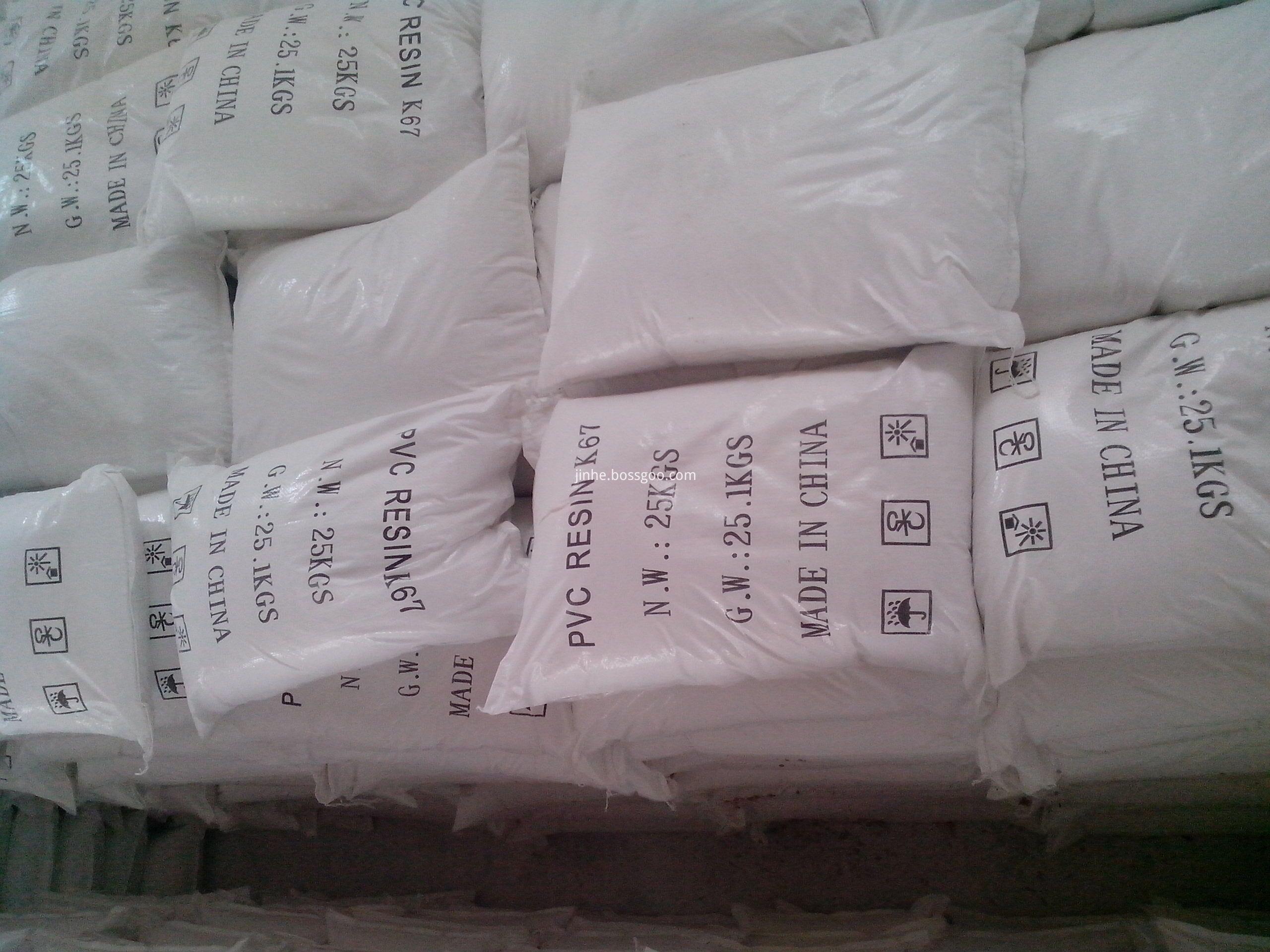 Polyvinyl Chloride Resin SG5 K67