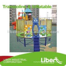 Équipement de trampoline pour gymnastique extérieur pour enfants LE.BC.014