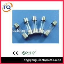 China wholesale 5x20/6x30/10x38 hrc Glass Fuse types