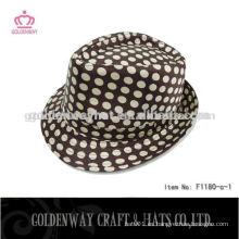 Sombreros personalizados de Fedora del punto para los niños