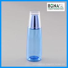 Botella cosmética del animal doméstico 150ml con la tapa de acrílico de la pared de Doubal