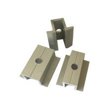 vente en gros accessoires de stent solaire d'extrusion d'aluminium sur mesure