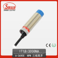 Interruptor indutivo de proximidade (IT18-3008NA) 6-36VDC Interruptor indutivo de proximidade NPN normalmente aberto com distância de detecção de 8mm